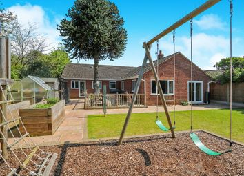 Thumbnail 5 bed detached bungalow for sale in Camp Road, Taverham, Norwich