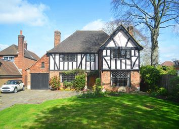 Thumbnail 4 bed detached house for sale in Hawthorne Road, Bickley, Bromley