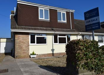 Thumbnail 3 bed semi-detached house for sale in Longacre Drive, Nottage, Porthcawl