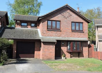 Thumbnail 4 bed detached house for sale in Fryers Road, Three Legged Cross, Wimborne