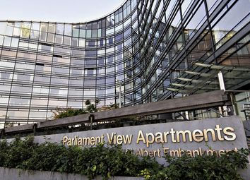 Thumbnail 2 bed flat for sale in Parliament View Apartments, 1 Albert Embankment, London
