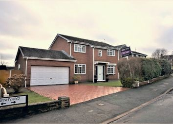 Thumbnail 4 bed detached house for sale in Brynhyfryd, Wrexham