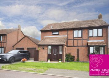 Thumbnail Detached house for sale in Viceroy Close, Raunds, Wellingborough, Northamptonshire