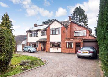 Thumbnail 5 bed detached house for sale in Nightingale Lane, Earlsdon, Coventry