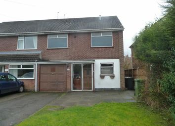 Thumbnail 4 bedroom semi-detached house for sale in Cleveland Road, Bulkington, Bedworth