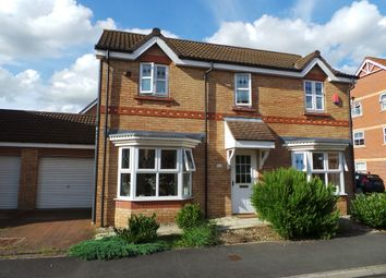 Thumbnail 3 bed link-detached house for sale in Heron Drive, Gainsborough