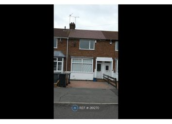 Thumbnail 2 bed terraced house to rent in Stapleford Road, Luton