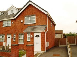 Thumbnail 3 bed semi-detached house to rent in Bolton Avenue, Kirkby, Liverpool