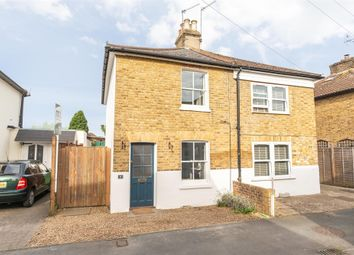 Thumbnail 2 bed semi-detached house for sale in Mills Road, Hersham Village, Surrey