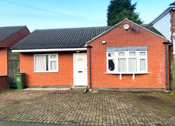 2 bed detached bungalow for sale in Gwencole Crescent, Off Narborough Road, Leicester LE3