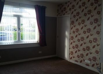 Thumbnail 1 bed flat to rent in Loccard Road, Stevenston