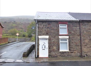 Thumbnail 3 bed end terrace house for sale in Fronwen Terrace, Ogmore Vale, Bridgend County.