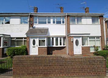 Thumbnail 3 bed terraced house for sale in Deneside, Fellgate, Jarrow