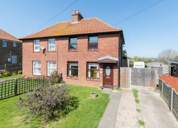 Thumbnail 2 bed semi-detached house for sale in Circular Road, Betteshanger, Deal
