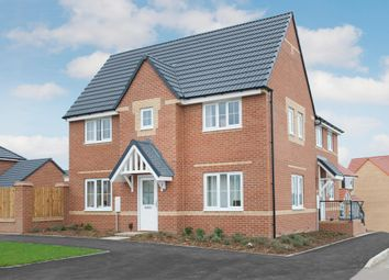 "Thumbnail 3 bedroom detached house for sale in ""Morpeth"" at Saxon Court, Bicton Heath, Shrewsbury"