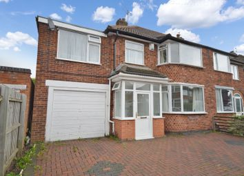 Thumbnail 5 bedroom semi-detached house for sale in Bakewell Road, Wigston, Leicester