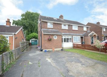 Thumbnail 4 bed semi-detached house for sale in Owlsmoor Road, Sandhurst, Berkshire