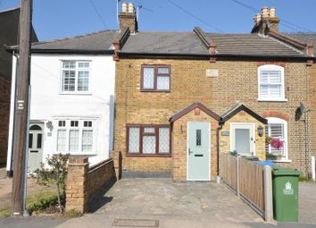 Thumbnail 2 bed terraced house for sale in Clayton Road, Chessington, Surrey.