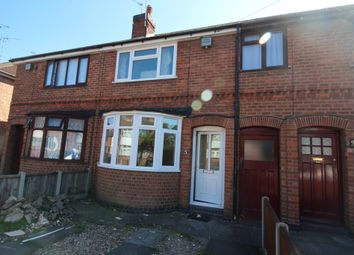 Thumbnail 2 bed terraced house to rent in The Brianway, Leicester