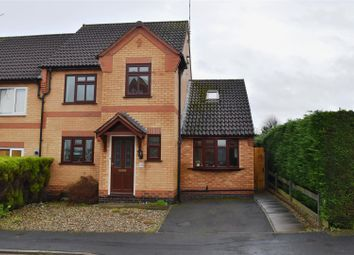 Thumbnail 4 bed semi-detached house for sale in Garden Close, Burbage, Hinckley