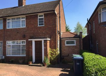 Thumbnail 4 bed semi-detached house for sale in Wolmer Gardens, Edgware, Middlesex
