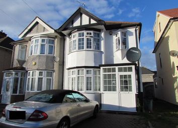 Thumbnail 3 bed semi-detached house for sale in Havering Gardens, Chadwell Heath, Romford