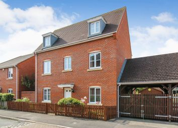 Thumbnail 4 bed detached house for sale in Rotary Way, Thatcham