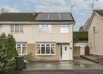 Thumbnail 3 bed semi-detached house for sale in Home Farm Crescent, Caerleon, Newport