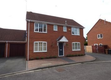 Thumbnail 4 bed detached house for sale in Burwell Reach, Botolph Green, Peterborough