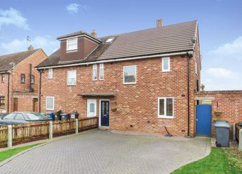 Thumbnail 3 bed semi-detached house for sale in Coneygrey Spinney, Flintham, Newark
