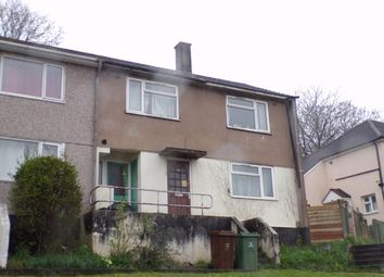 Thumbnail 3 bedroom terraced house for sale in Pennycross, Plymouth, Devon