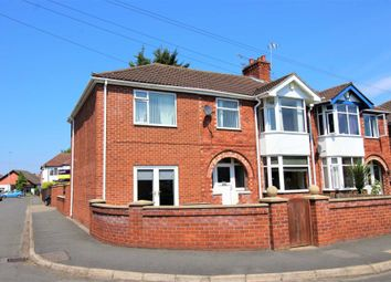 Thumbnail 4 bed semi-detached house for sale in Mayfair Avenue, Lincoln