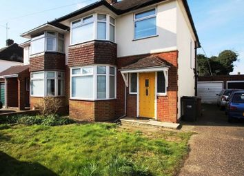 Thumbnail 3 bed semi-detached house to rent in Woodgreen Road, Luton