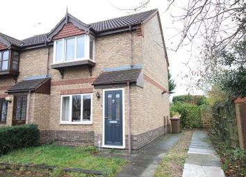 Thumbnail 2 bed semi-detached house for sale in Lodge Drive, Branston, Lincoln