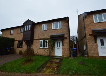 Thumbnail 3 bed end terrace house for sale in Martel Close, Duston, Northampton, Northamptonshire