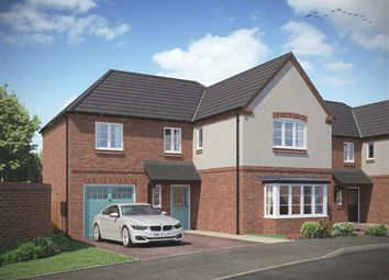Thumbnail 4 bed detached house for sale in Milton Road, Repton, Derby