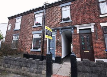 Thumbnail 2 bed terraced house for sale in Tunstall Road, Biddulph, Stoke-On-Trent