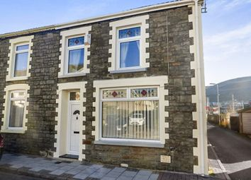 Thumbnail 3 bed end terrace house for sale in Cross Street, Porth