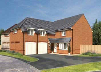 "Thumbnail 4 bed detached house for sale in ""Rothbury"" at Stanley Close, Corby"