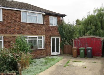 Thumbnail 3 bed semi-detached house for sale in Sherwood Avenue, Peterborough, Cambridgeshire