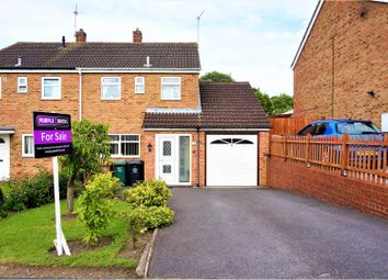 Thumbnail 3 bed semi-detached house for sale in Pennine Way, Swadlincote