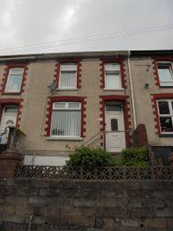 Thumbnail 3 bed terraced house to rent in Adare Street, Ogmore Vale, Bridgend, Bridgend.