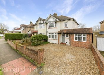 Thumbnail 3 bed semi-detached house for sale in Norton Avenue, Berrylands, Surbiton
