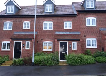 Thumbnail 3 bed terraced house for sale in Field View Road, Congleton