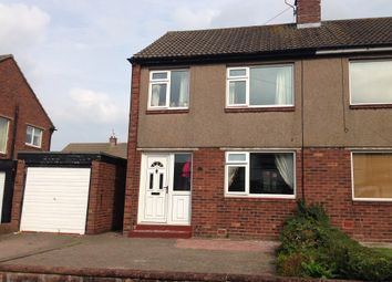 Thumbnail 3 bed semi-detached house to rent in Eden Park Crescent, Off Victoria Road, Carlisle