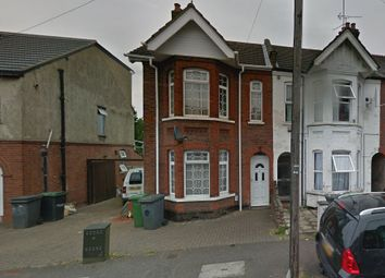 Thumbnail 3 bed end terrace house to rent in Beechwood Road, Luton