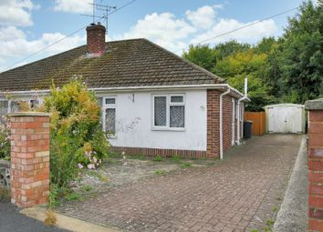 Thumbnail 2 bed semi-detached bungalow for sale in The Crescent, Andover