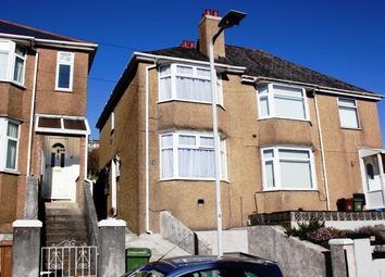 Thumbnail 2 bed semi-detached house for sale in Norfolk Road, Laira, Plymouth
