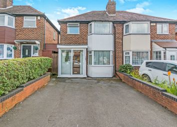 Thumbnail 3 bed semi-detached house for sale in Newborough Road, Shirley, Solihull