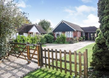 Thumbnail 3 bed detached bungalow for sale in Jubilee Close, Laxfield, Woodbridge